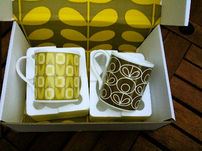 Orla Kiely mugs by post