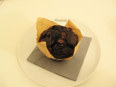 Elbspeicher Prenzlauer Berg Berlin chocolate muffin