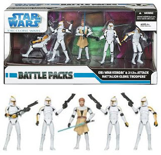 Clone Troopers /& Droids Battle Packs Pack STAR WARS The Clone Wars MIB