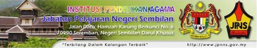 Institusi Pendidikan Agama (IPA) JPNS.