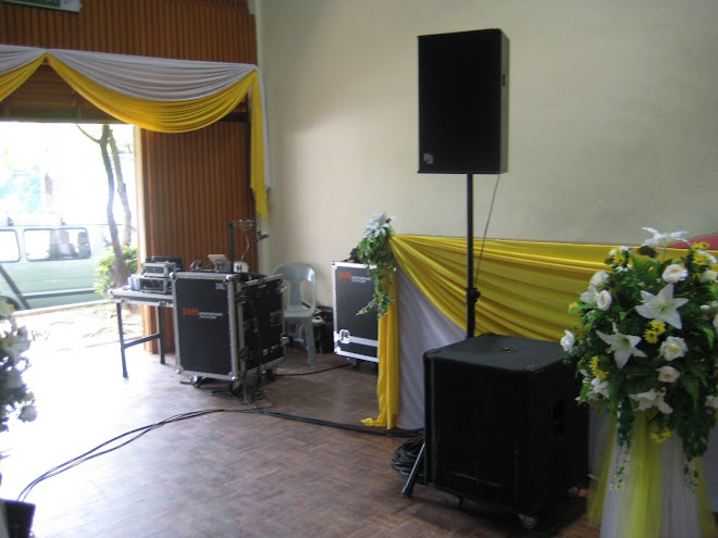 Normal Wedding Package Sound System - RM500