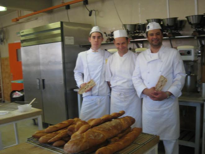 Con el Metier Phillipe Rolland y Alejandro Montes