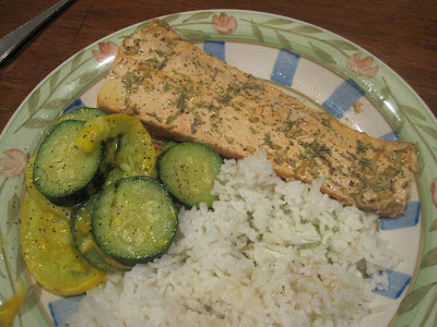 Home Baked Memories: Broiled Salmon with Rosemary
