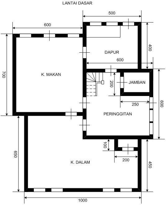 Ichsan025104 pemasangan instalasi listrik rumah tinggal dua lantai denah rumah dua lantai lantai dasar ccuart Images