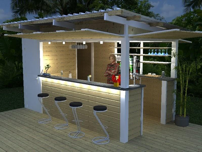 bet cspoi cr ation d 39 un bar ext rieur. Black Bedroom Furniture Sets. Home Design Ideas