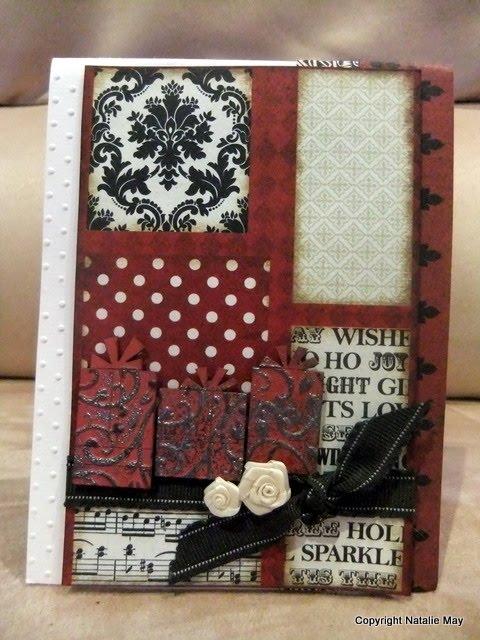 Happy Daks Natalie May Cuttlebug Christmas Cards Amp A