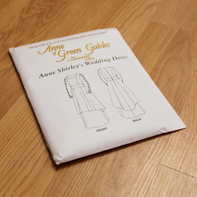 This is the dress Anne Shirley wore at her wedding in Anne of Green Gables