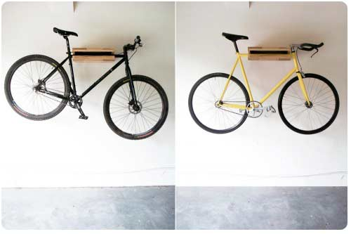 Loving living small live small with style fab bike storage for small spaces - Bike storage for small spaces image ...