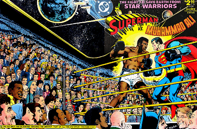 "superman+muhammad+ali full Regresa ""Superman Vs. Muhammad Ali"", una obra de culto"
