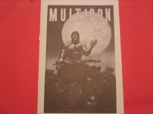MULTICON 1970 Program book cover