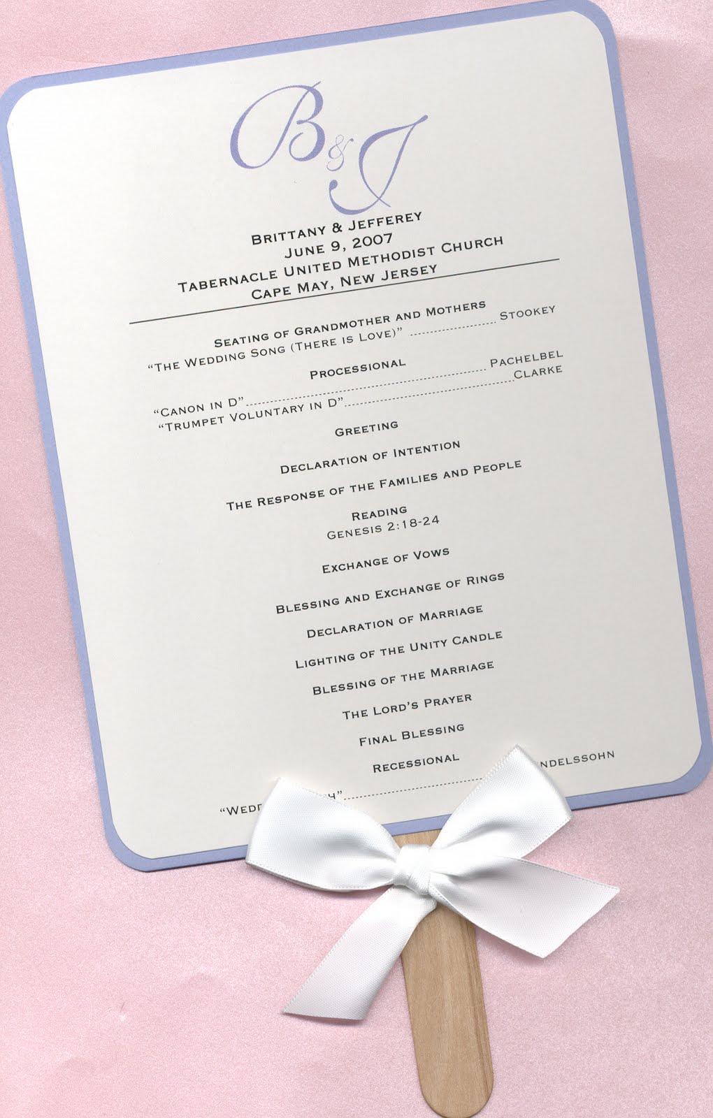 wedding program template - gerhard-leixl.tk