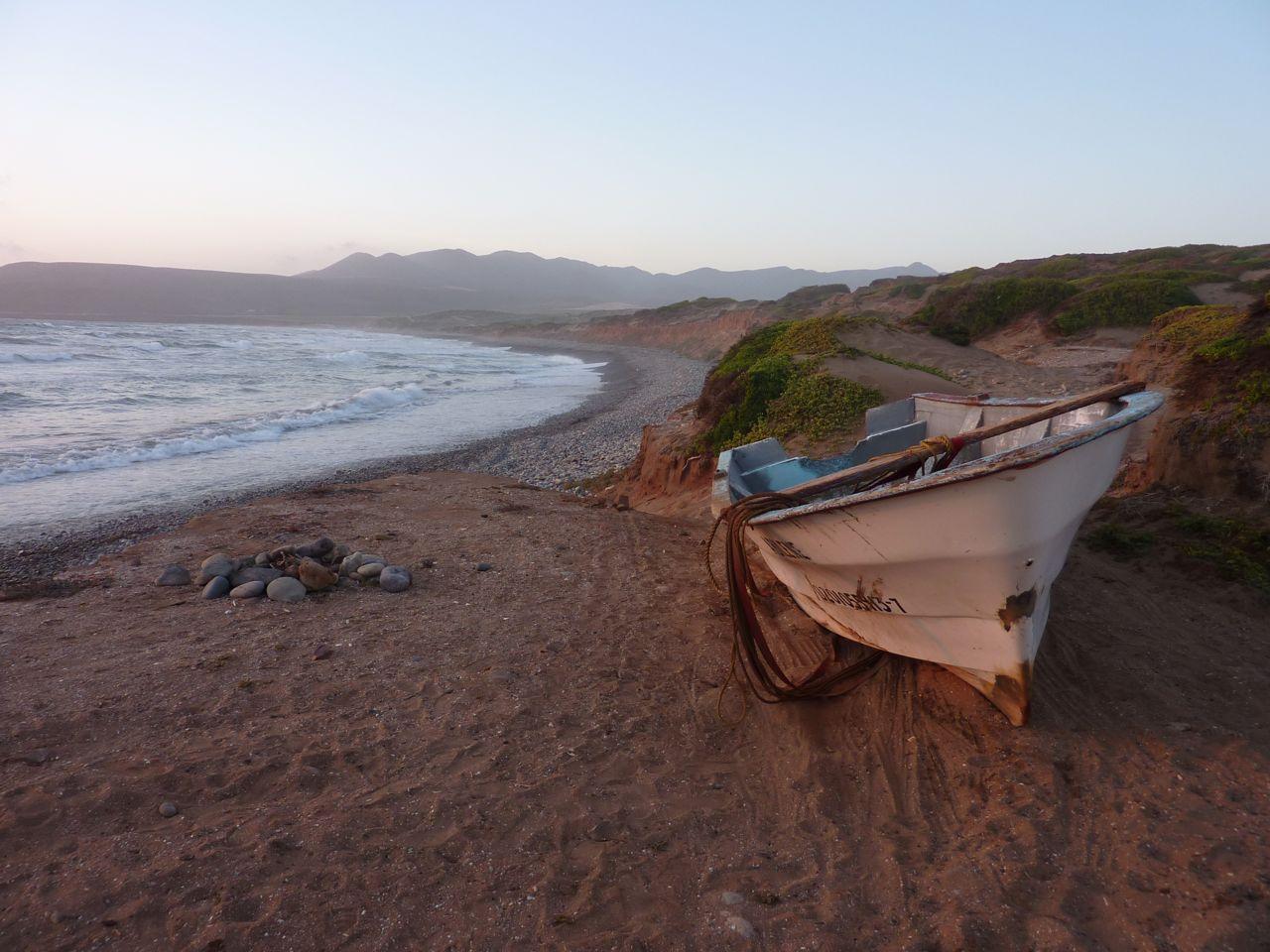 punta cabras and a shipwreck
