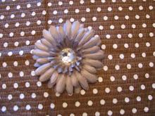 Gray Flower $5.00