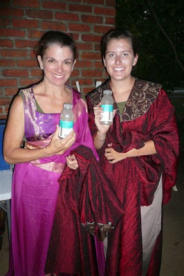Denice Hicks and Maddie Hicks sporting VitaminWater.