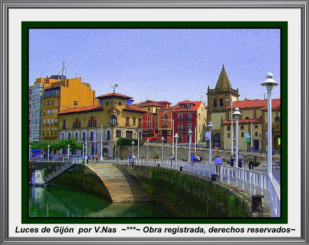 Gijón  de luces