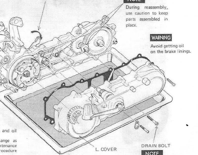 honda express moped scooter nc 50 1978 express ii, sr, urban ct110 wiring-diagram honda express moped scooter nc 50 1978 express ii, sr, urban express 1978 honda express left crank case transmission