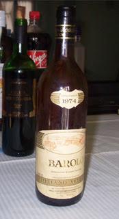 Barolo vin