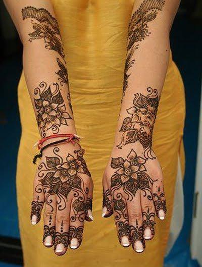Mehndi Patterns Facts : Facts around us arabic mehndi designs photo simple pic