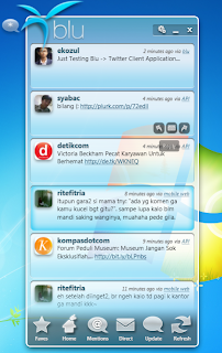 Blu: Twitter Client Application