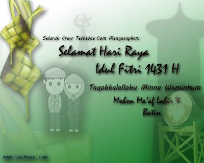 TechWae Mengucapkan Selamat Hari Raya Idul Fitri 1431 H ...