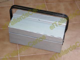 Eltallerdecarlos restaurar objetos de metal pintar caja - Manualidades pintar caja metal ...
