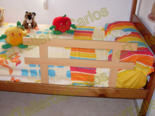 Eltallerdecarlos hacer valla infantil para cama - Valla seguridad ninos ...