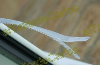 Eltallerdecarlos mosquiteras poner mosquiteras tipos de for Velcro para mosquitera