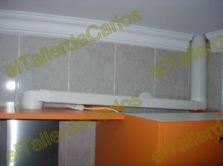 Eltallerdecarlos conectar extractor de cocina montar for Tubo campana extractora rectangular