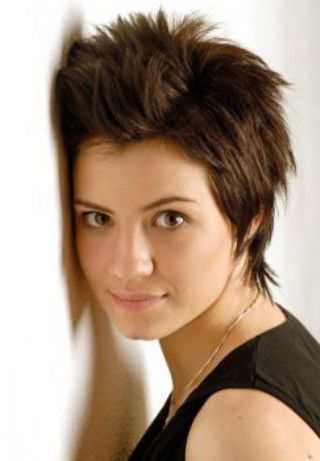 The pixie haircut is one of the best haircuts for going from the workplace,