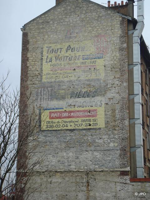 Les murs peints s 39 affichent nouvelles trouvailles val de marnaises opus 1 valenton et saint for Comboulevard de creteil saint maur