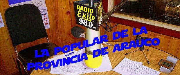 Radio xito fm 98 9 mhz la radio popular de ca ete la radio for Radio boden 98 2 mhz