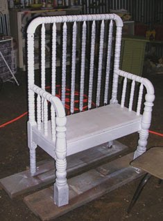 Easy Frugal Living Show Me Your Repurposed Baby Crib Projects