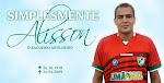 ALLISON, 30 ANOS, zagueiro e capitão do Salgueiro, onde estava desde o início do time, 5 anos atrás
