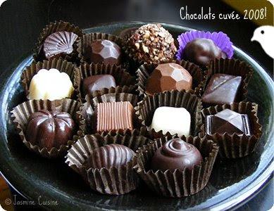 Chocolats Fourres 2008 Jasmine Cuisine