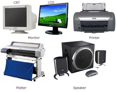 pengertian unit keluaran(output device) | hardware dan software