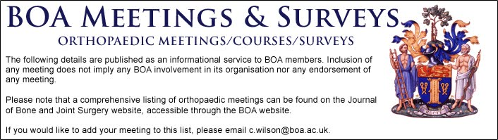 BOA Meetings & Surveys