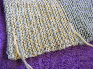 Peggy Square Knitting Patterns : SoonArmy: How to Knit a Peggy Square - Part #2