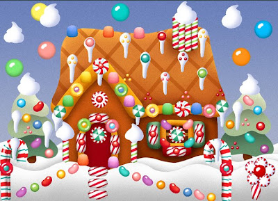pimped out gingerbread house