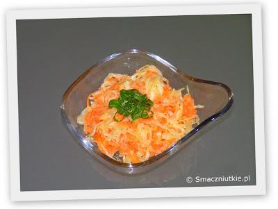 Surówka z kiszonej kapusty - jeden przepis wiele smaków