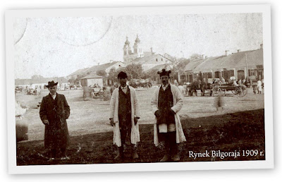 Rynek Biłgoraja 1909r.