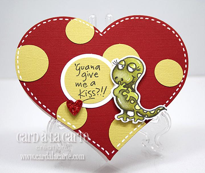 Card La Carte Iguana Love Valentines Day Cards