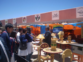 Taller de Carpinteria en La Feria de Potosí
