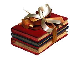Um presente??? Livros...
