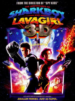 As Aventuras de Sharkboy e Lavagirl – Dublado