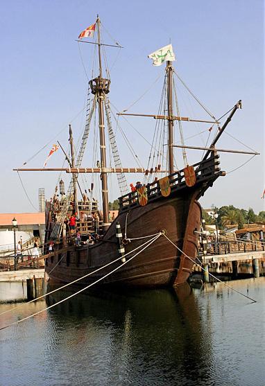 Barco antiguo las carabelas de col n la ni a la pinta y la santa mar a - Todo sobre barcos ...