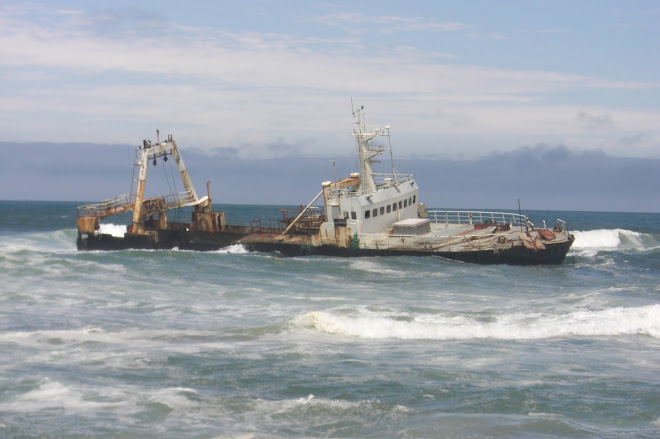 Shipwrecks  on the Skeleton Coast