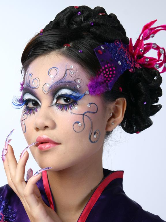 fantasy makeup gallery. fantasy stage makeup. Photos