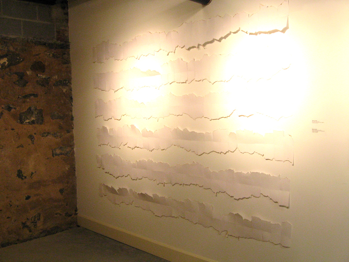 Melinda Steffy, artwork and art-writing: Installation shots at ...