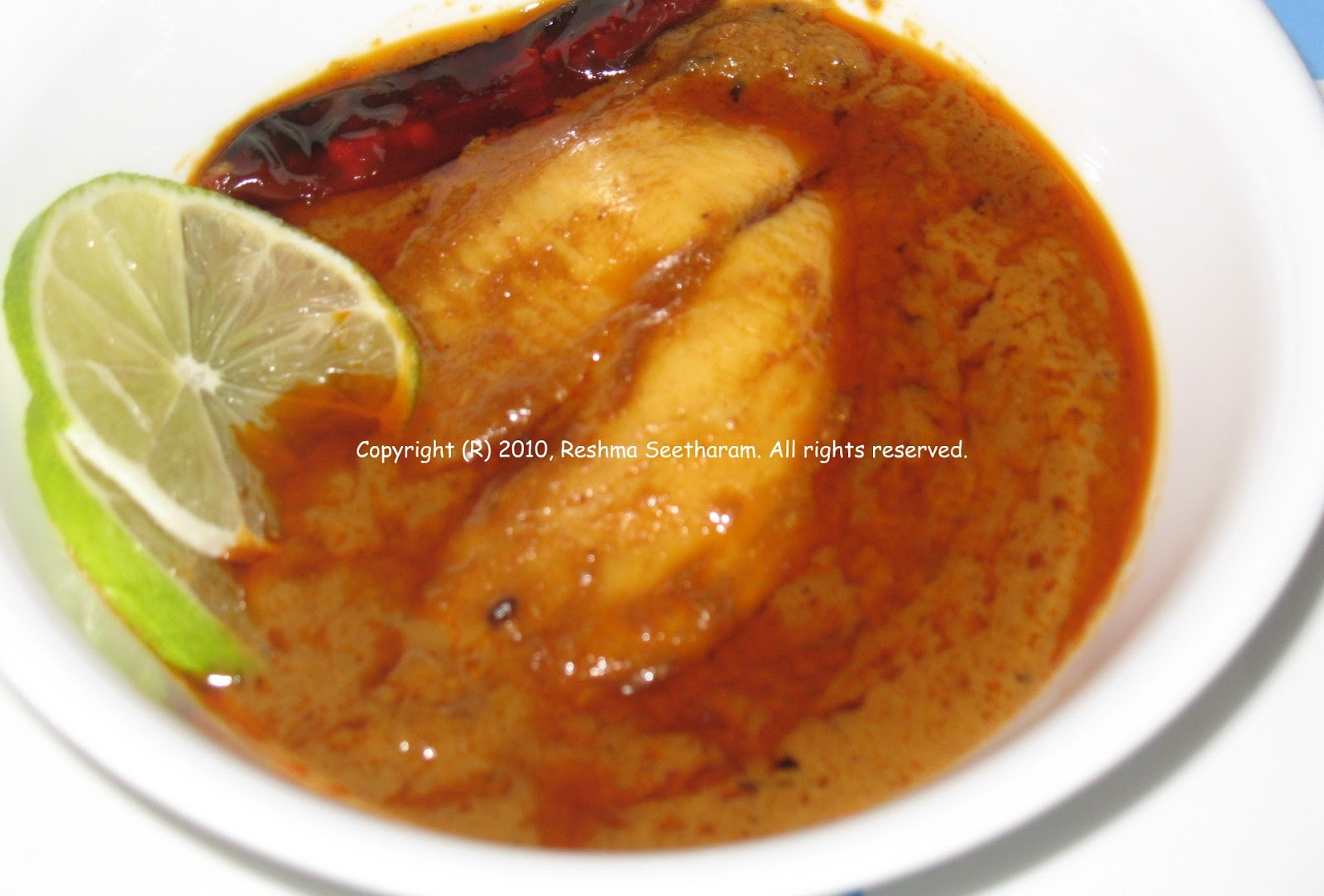 My foodarama: Fish curry South Indian style