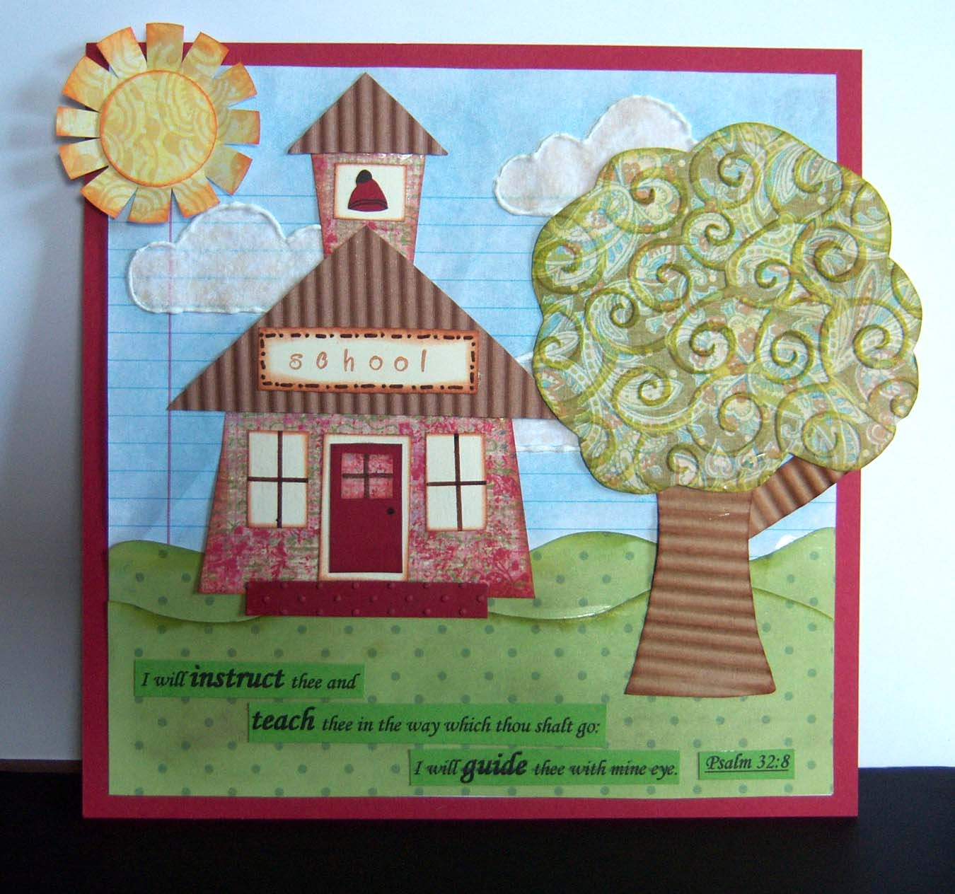 September Bulletin Board Ideas http://estherscardcreations.blogspot.com/2010/09/september-bulletin-board.html